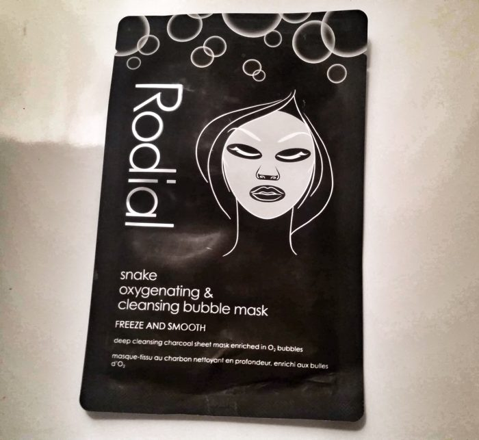 Rodial Snake Bubble mask