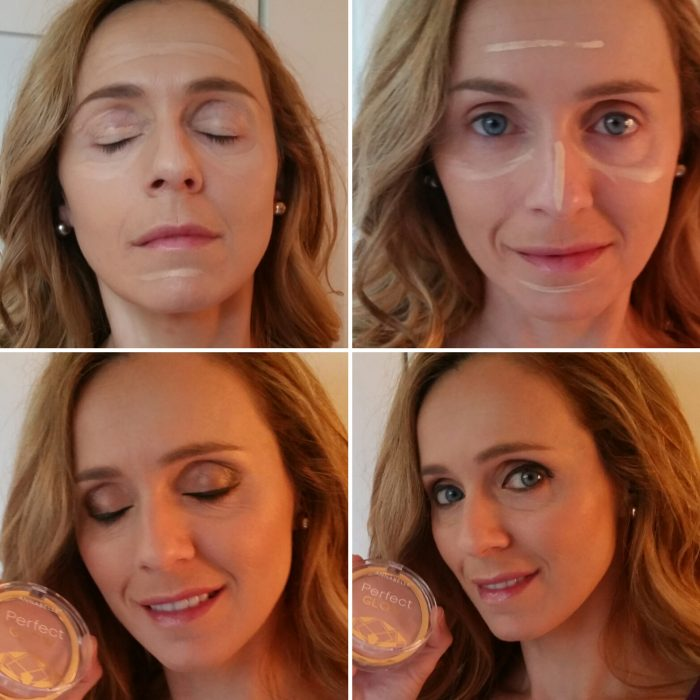 étapes de maquillage