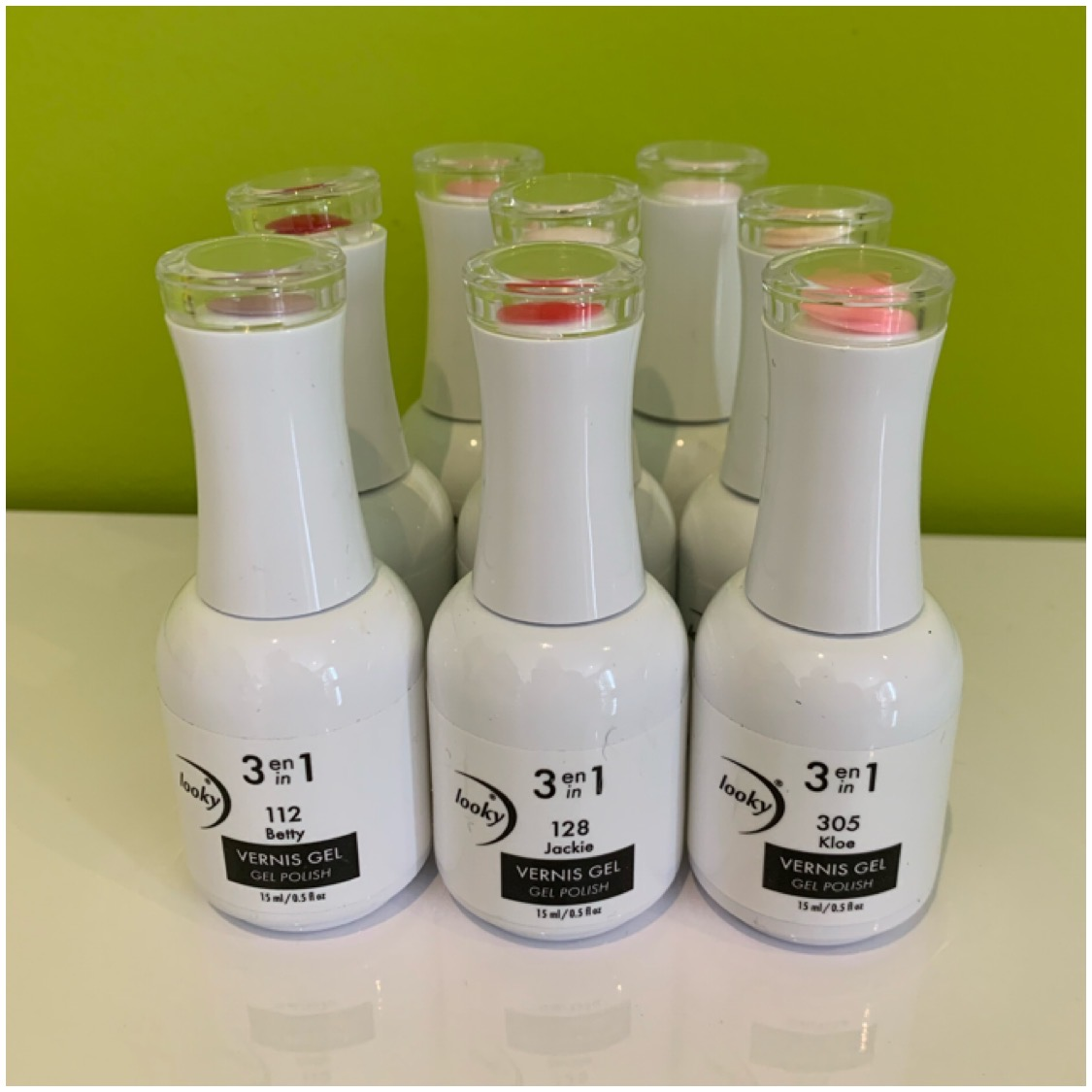 vernis gel looky 3 en 1